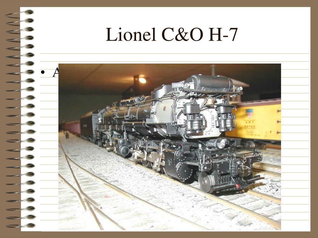 Lionel C&O H-7