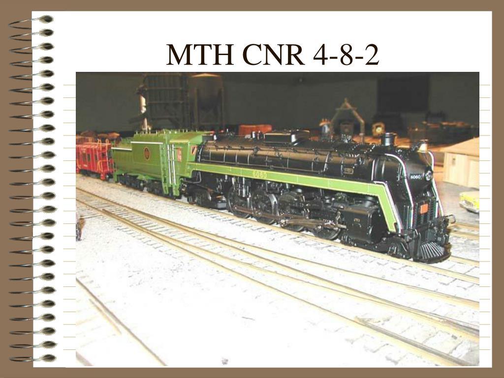 MTH CNR 4-8-2