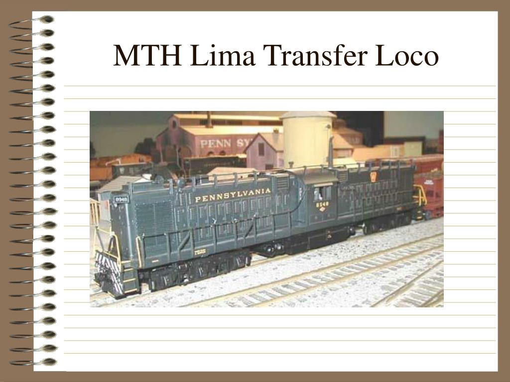 MTH Lima Transfer Loco