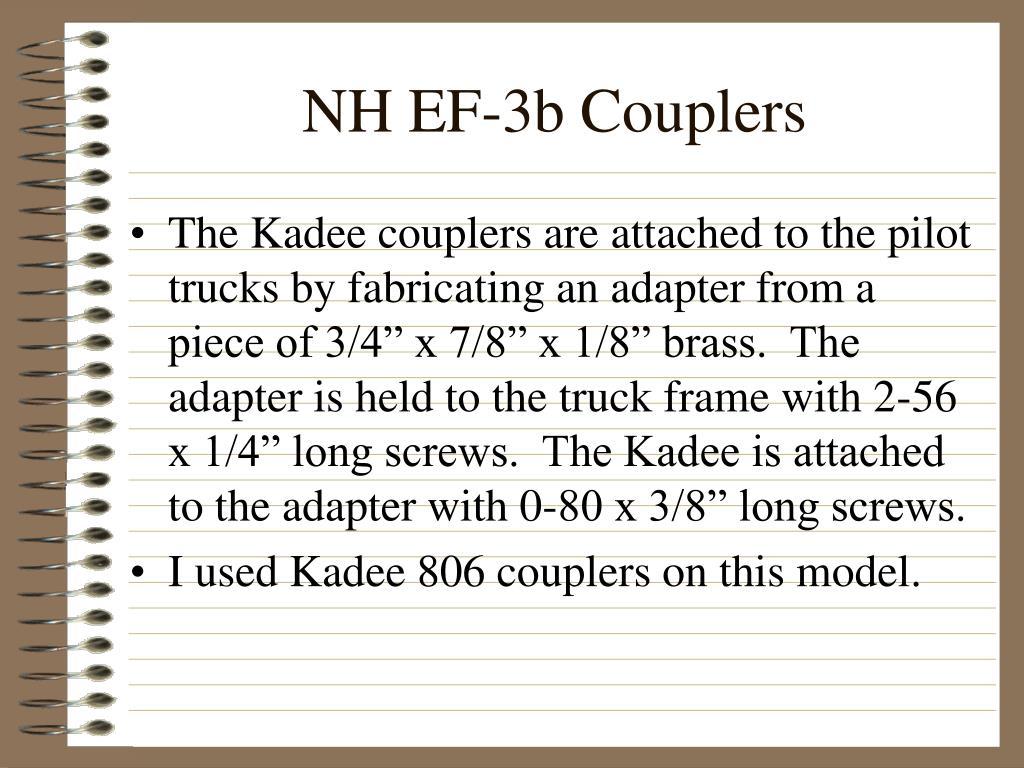 NH EF-3b Couplers