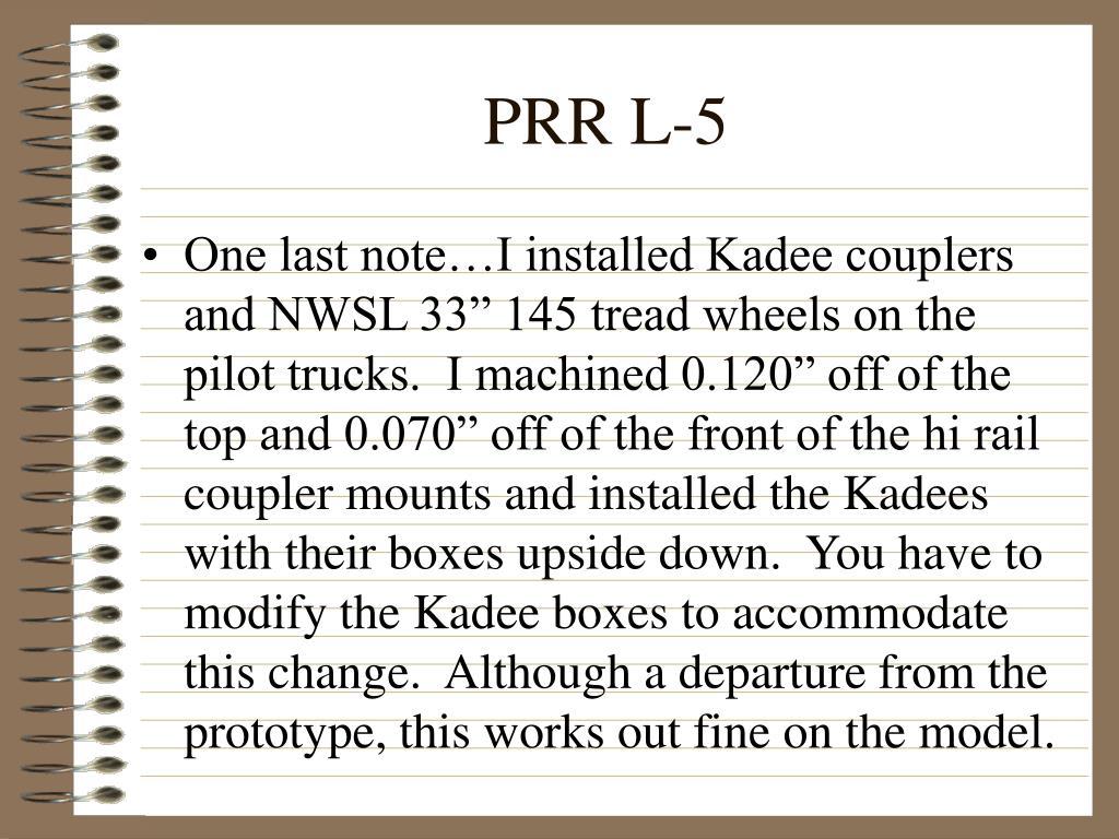 PRR L-5