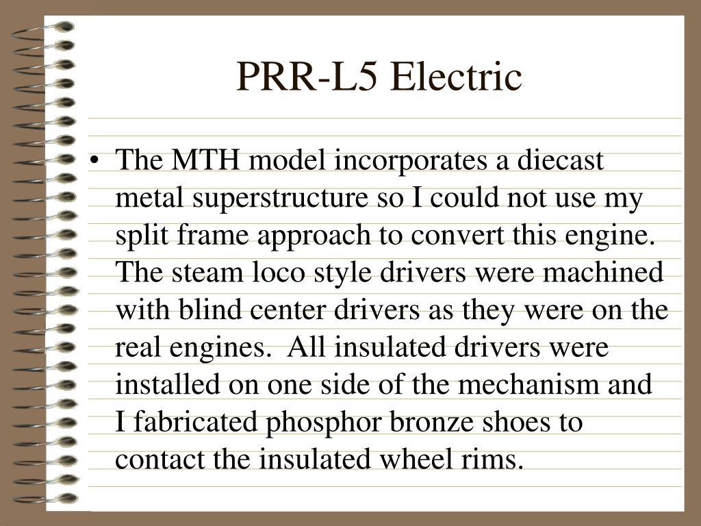 PRR-L5 Electric