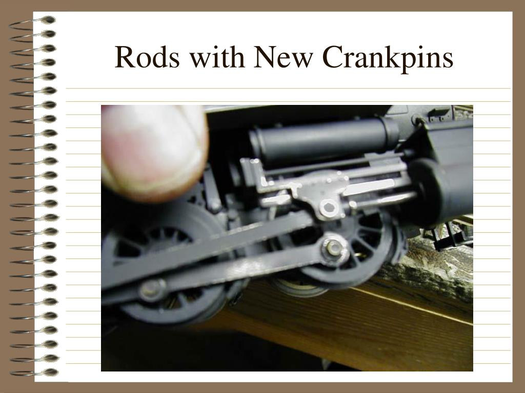 Rods with New Crankpins