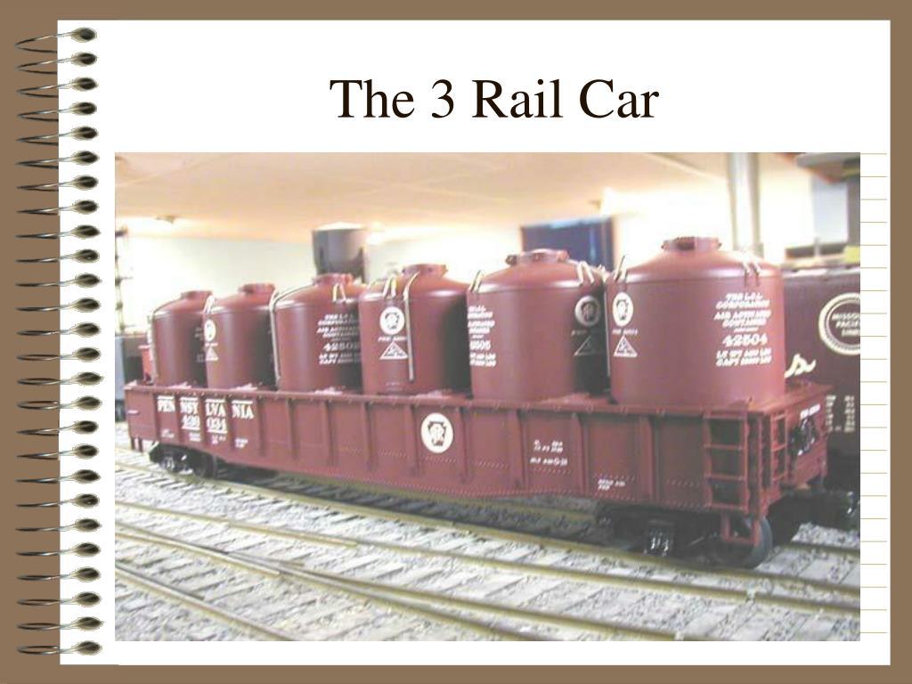 The 3 Rail Car