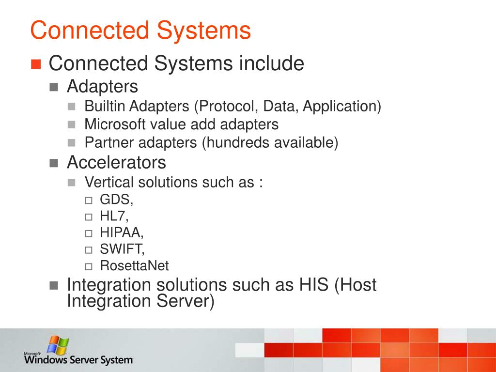 Connected Systems