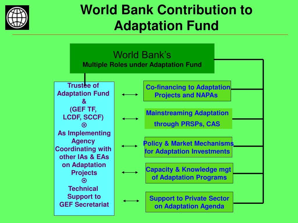 World Bank Contribution to