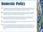 domestic policy52