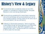 history s view legacy