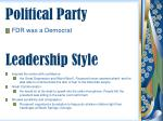 political party
