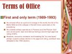 terms of office59