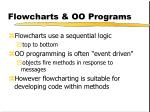 flowcharts oo programs