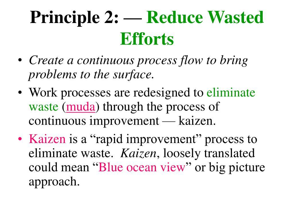 Principle 2: —