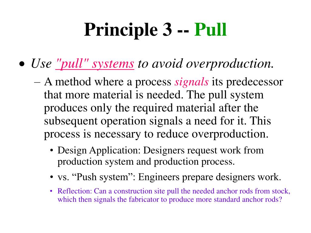 Principle 3 --