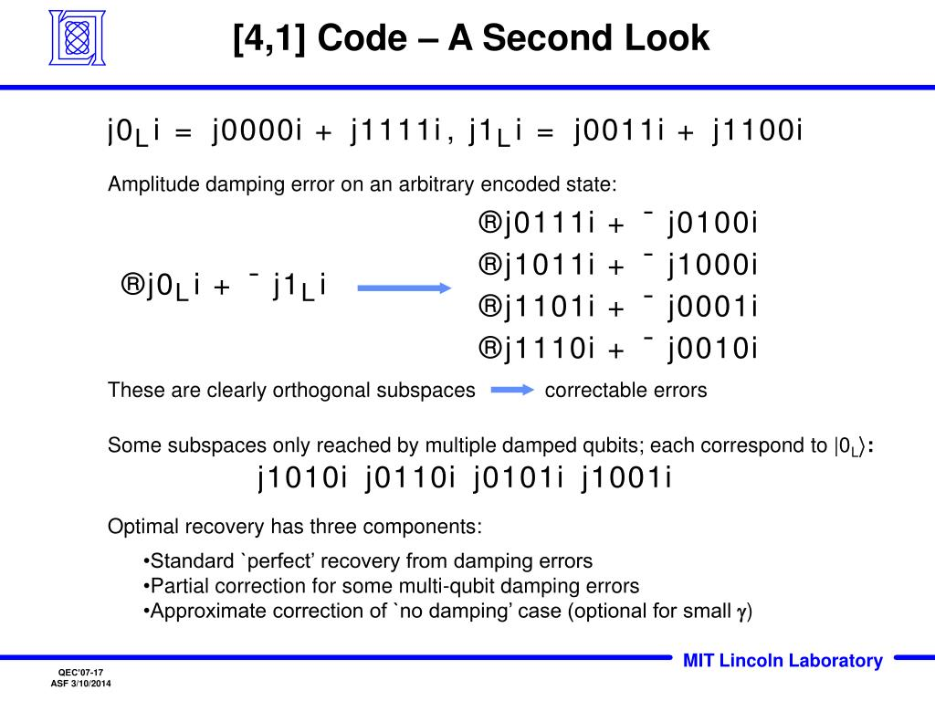 [4,1] Code – A Second Look
