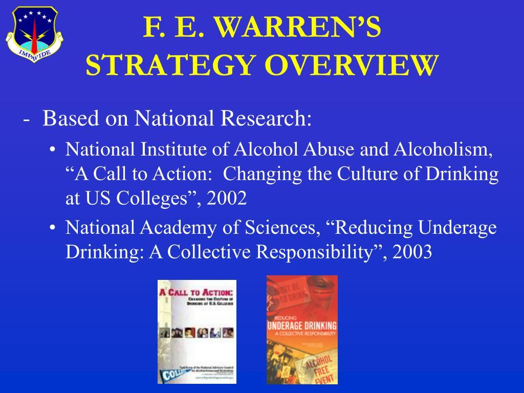 F. E. WARREN'S