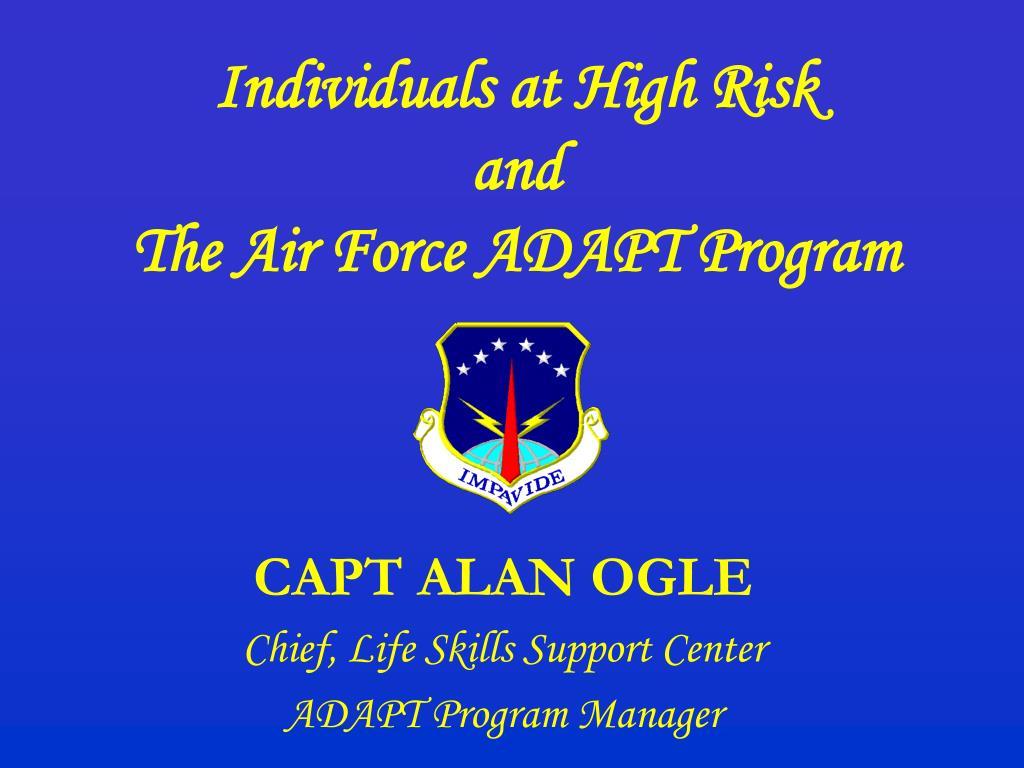 Individuals at High Risk