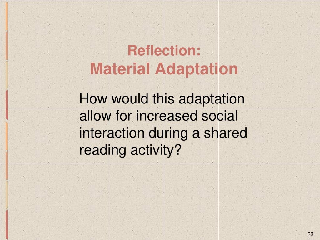 How would this adaptation allow for increased social interaction during a shared reading activity?