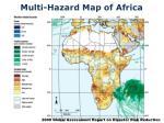 multi hazard map of africa