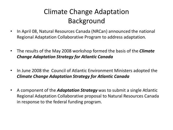 Climate change adaptation background3