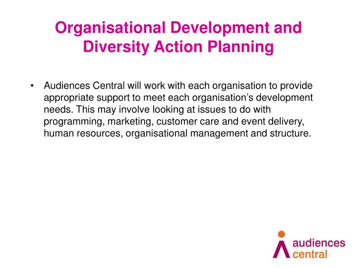 Organisational Development and Diversity Action Planning