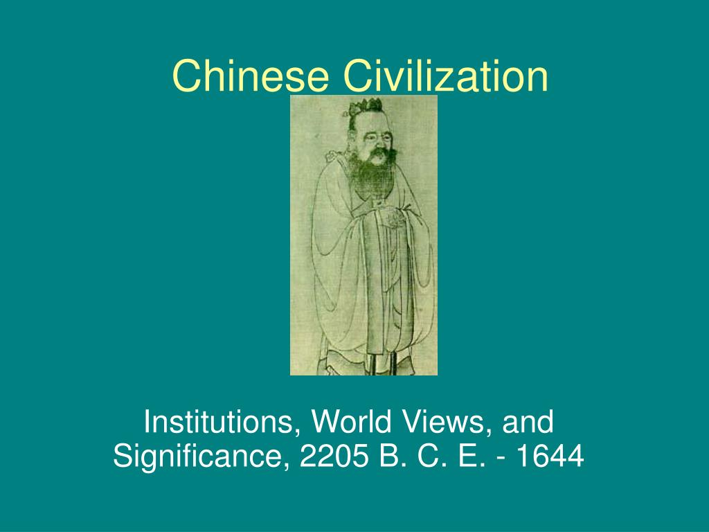 successful points of the ancient chinese civilization