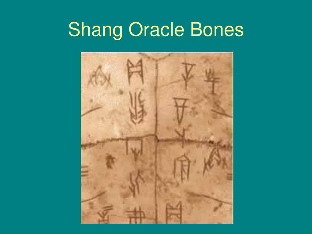 Shang Oracle Bones