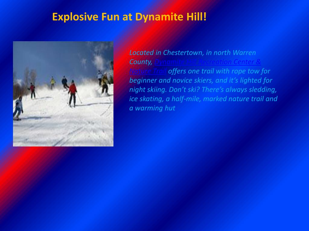 Explosive Fun at Dynamite Hill!