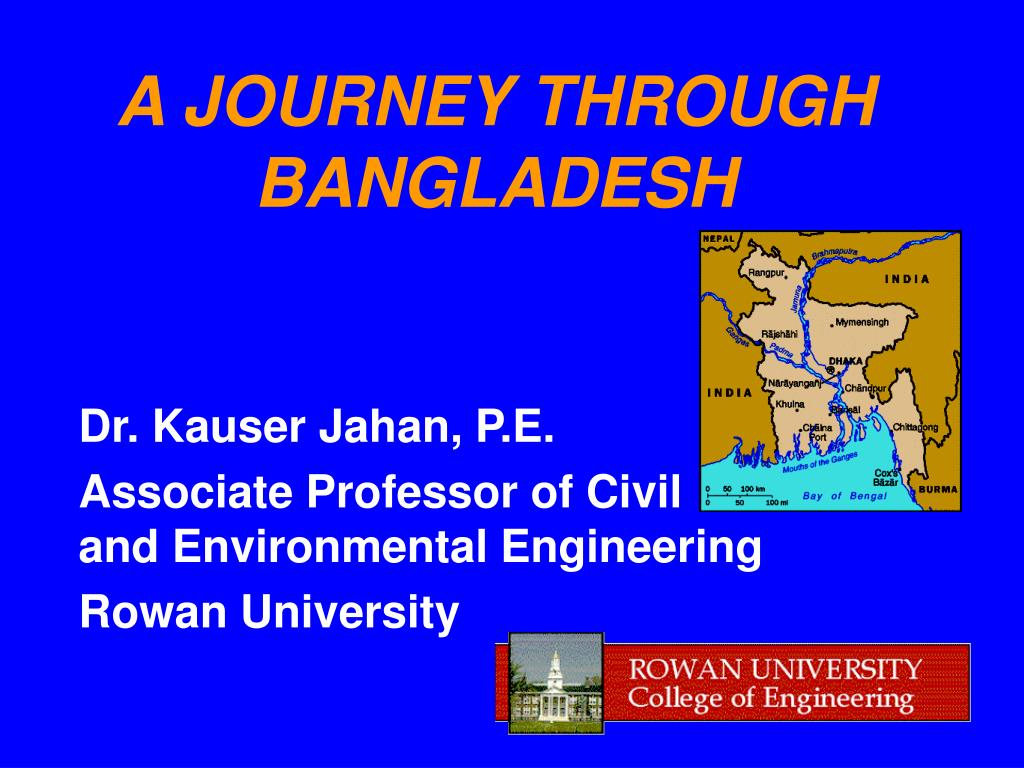 a journey through bangladesh l.