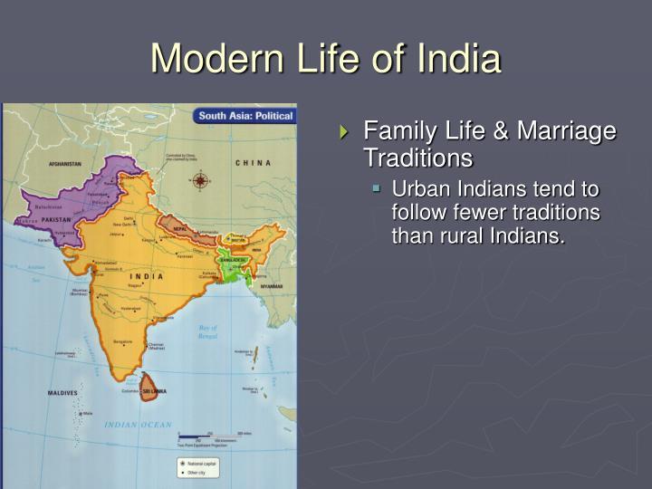 Modern life of india3