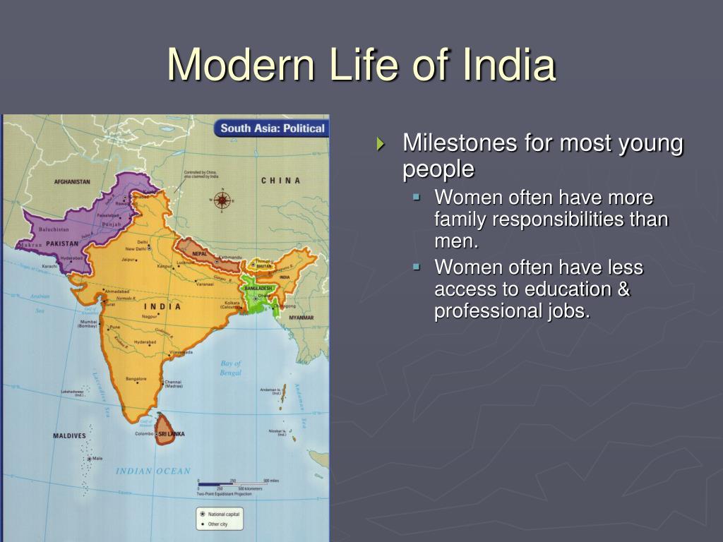 Modern Life of India