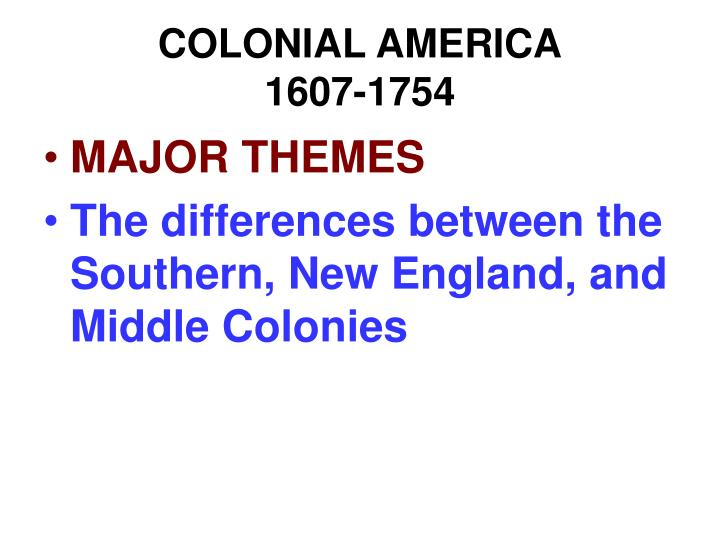differences between massachusetts and virginia 1607 The virginia and massachusetts colonies: similarities and differences both the english settlements of virginia and massachusetts were borne of the english people thinking that england was already becoming overcrowded, and that migrating to america would ease the problems of population boom (villamagna, et al, 2004.