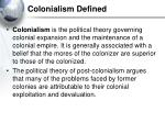 colonialism defined