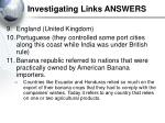 investigating links answers5