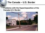 the canada u s border30