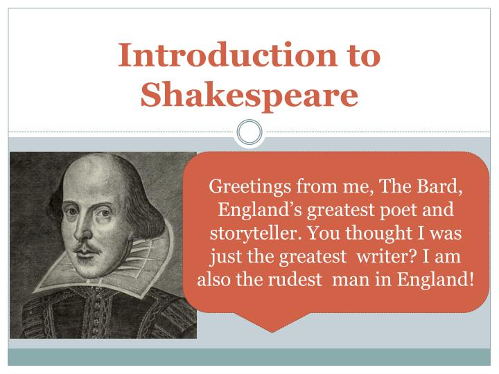 introduction to shakespeare n.
