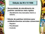 edi o da in n 4 1998