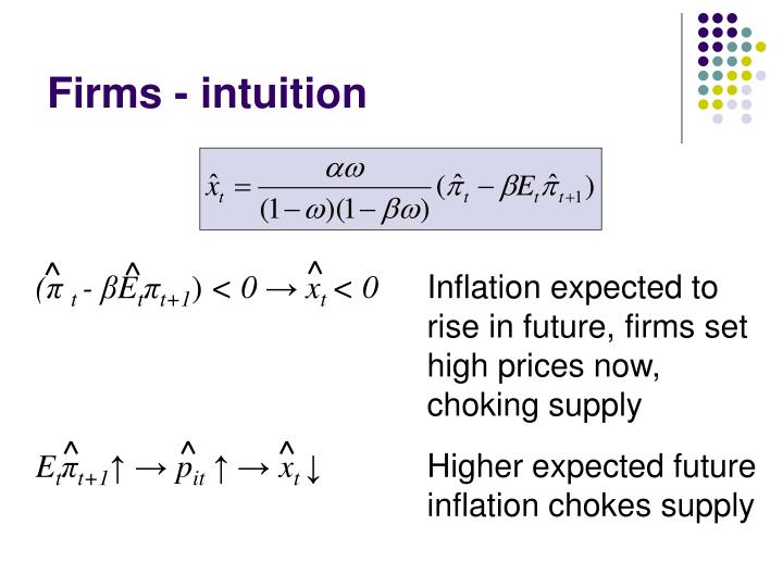 Firms - intuition