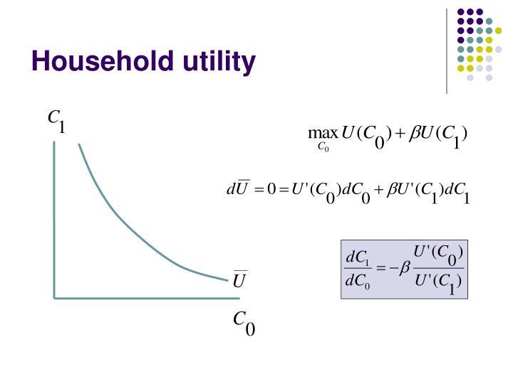Household utility