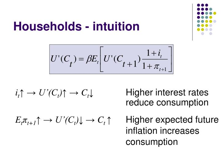 Households - intuition