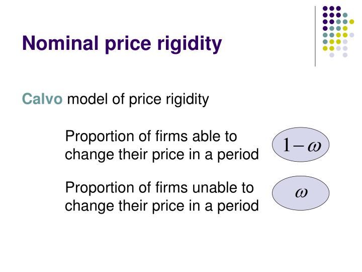 Nominal price rigidity