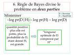 6 r gle de bayes divise le probl me en deux parties2