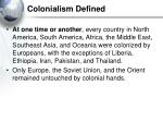 colonialism defined11