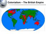 colonialism the british empire
