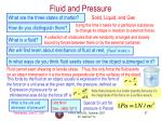 fluid and pressure
