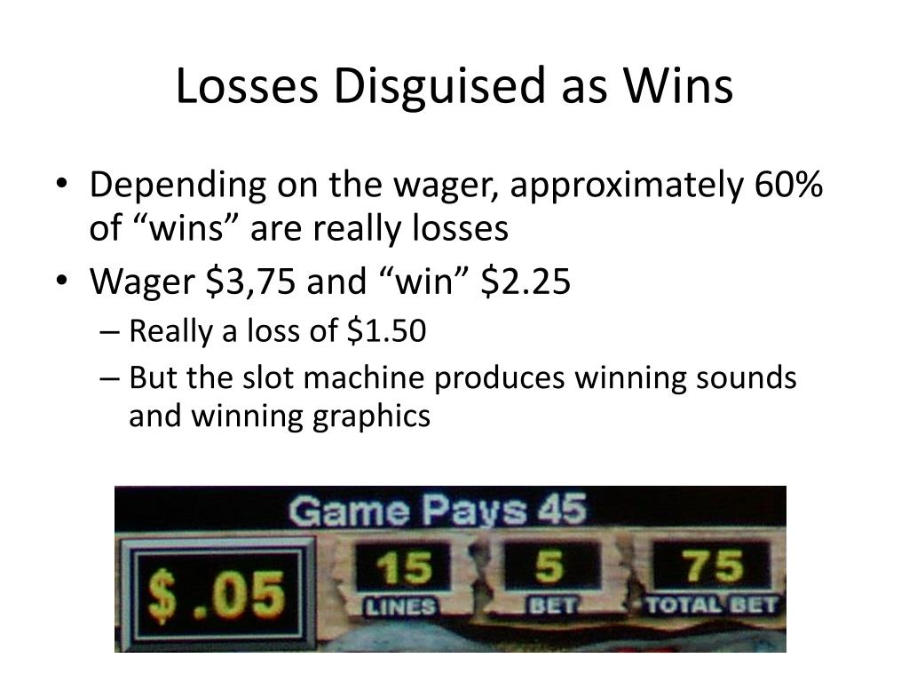 Losses Disguised as Wins