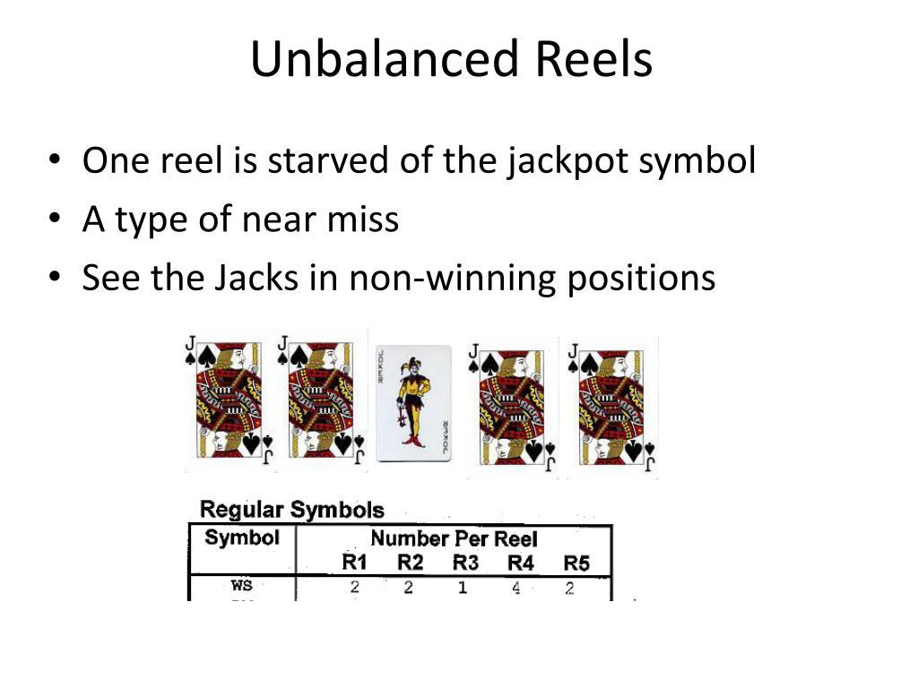 Unbalanced Reels