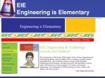 eie engineering is elementary