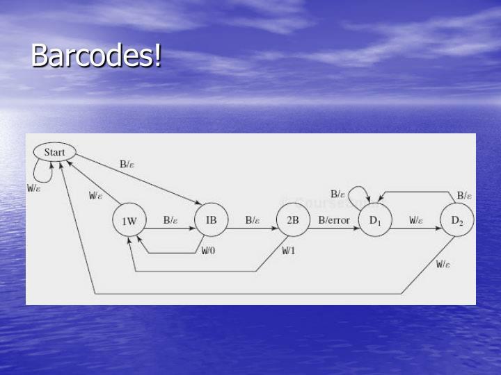 Barcodes!