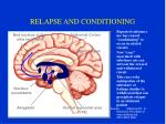 relapse and conditioning