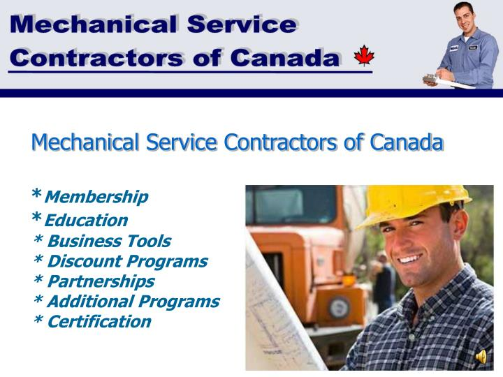 Mechanical Service Contractors of Canada